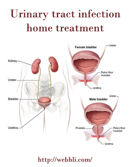 Urinary tract infection home treatment