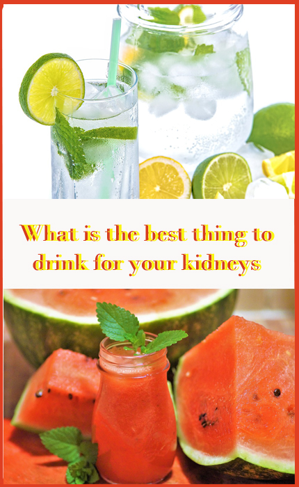 What is the best thing to drink for your kidneys